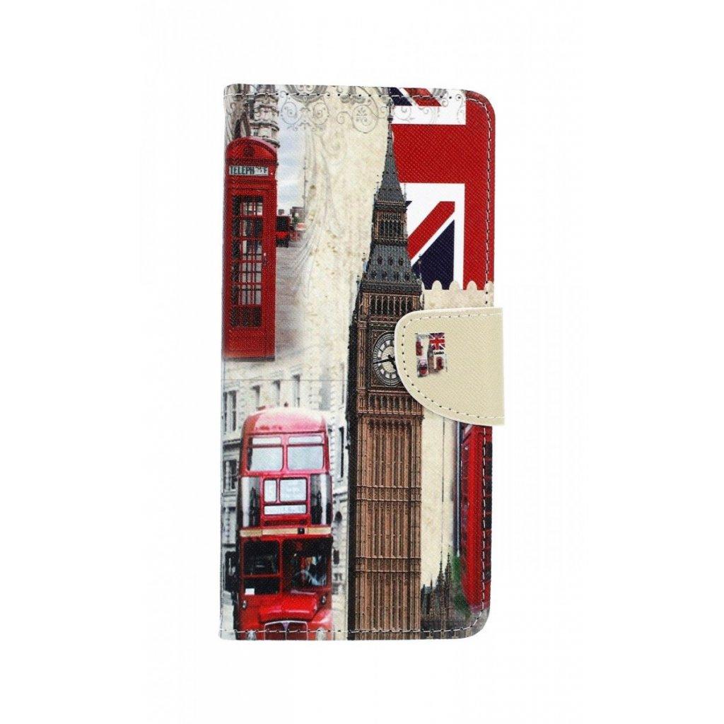 Flipové puzdro na Samsung J4 + Londýn