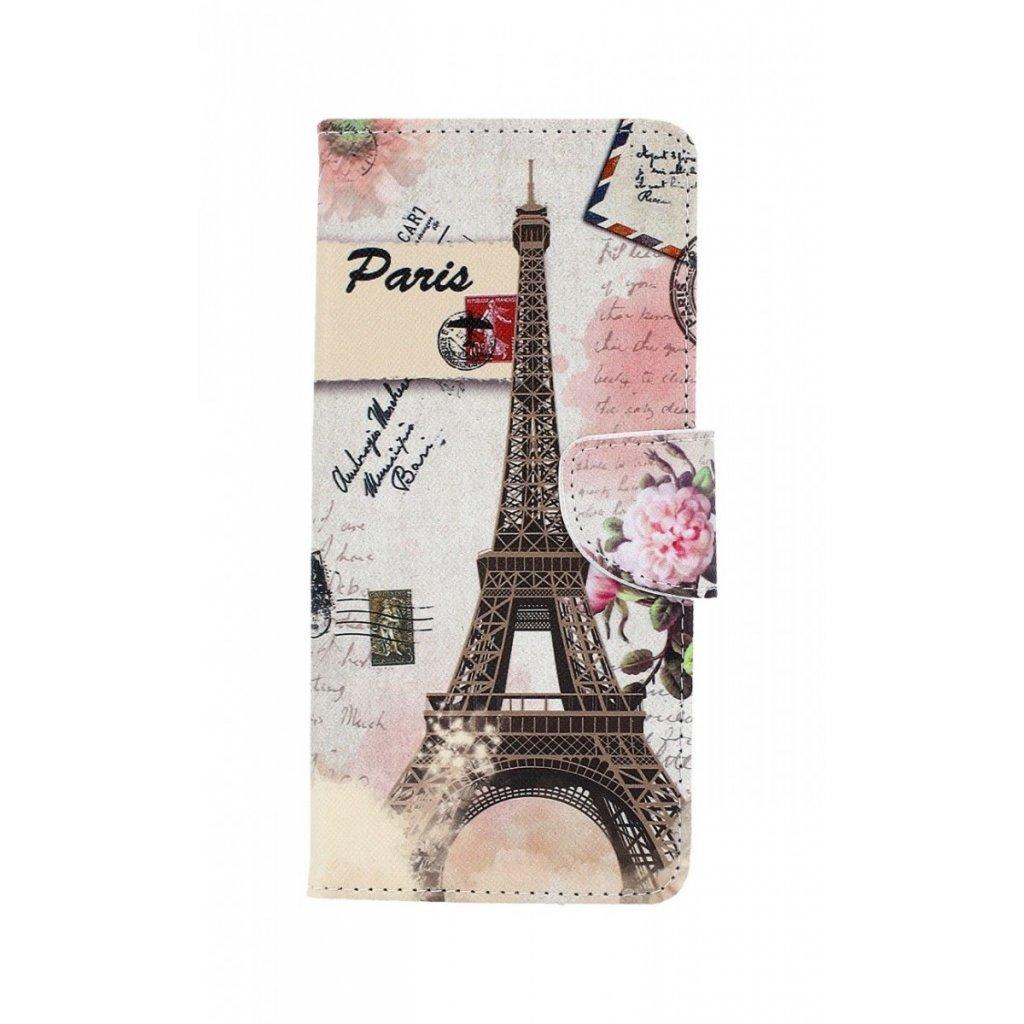 Flipové puzdro na Samsung J6 + Eiffelova veža