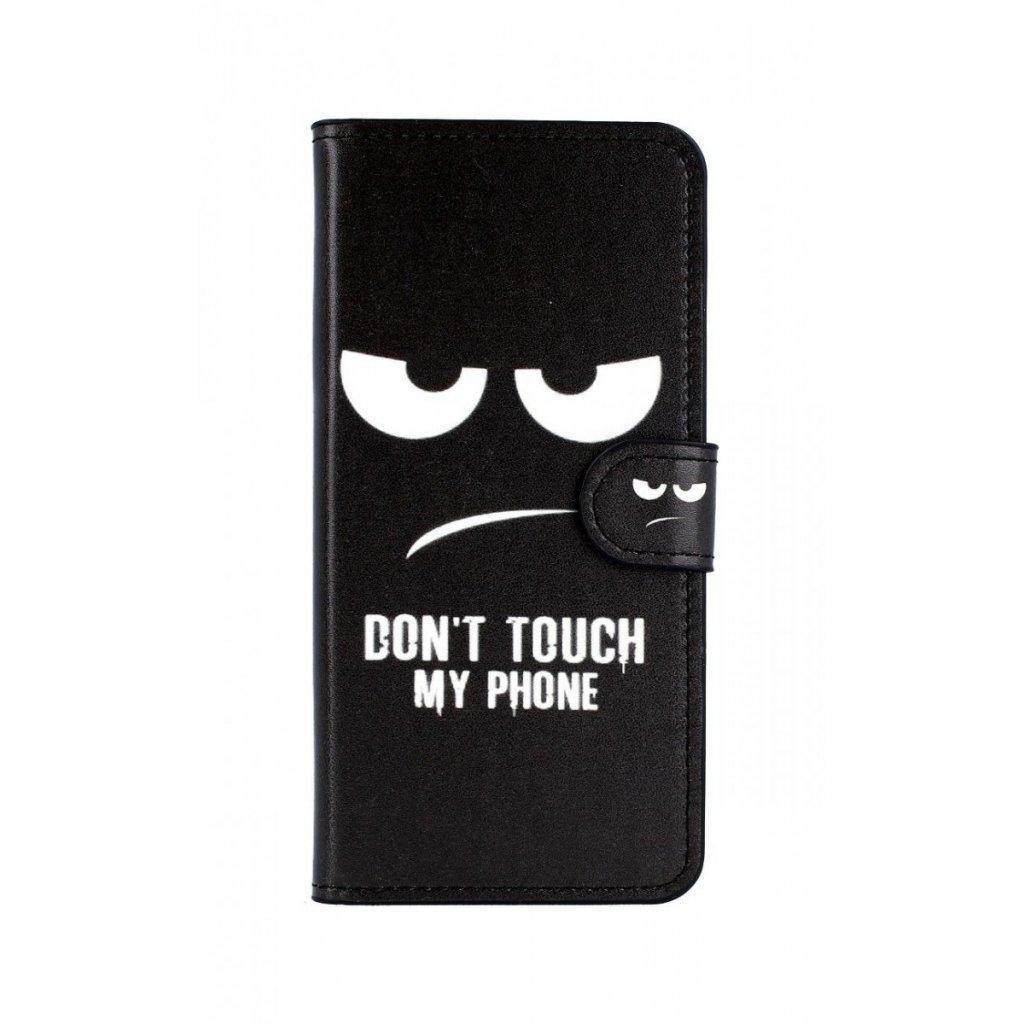 Flipové puzdro na Samsung A6 Dont Touch koženka