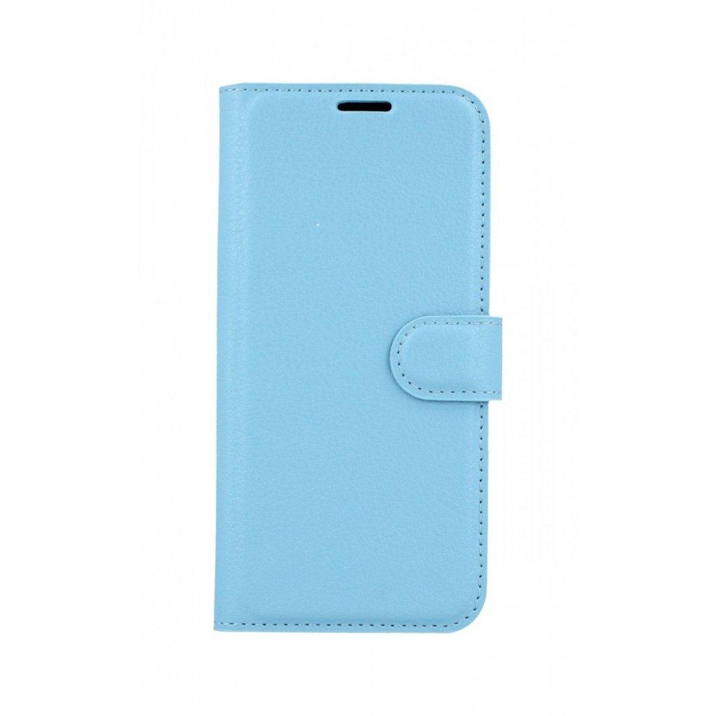 Flipové puzdro na Samsung A6 modré s prackou
