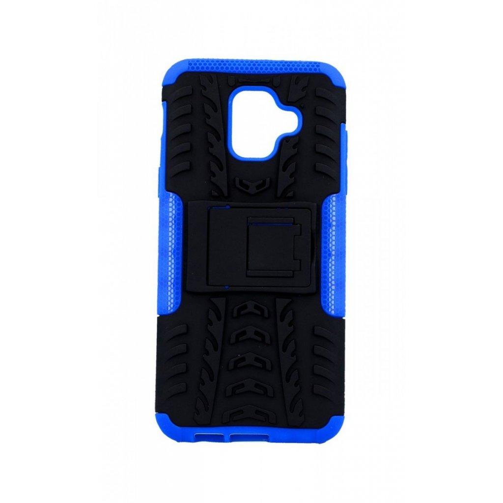 Ultra odolný zadný kryt na Samsung A6 modrý