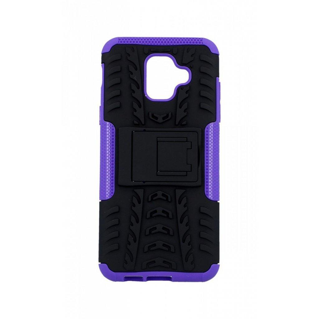 Ultra odolný zadný kryt na Samsung A6 fialový