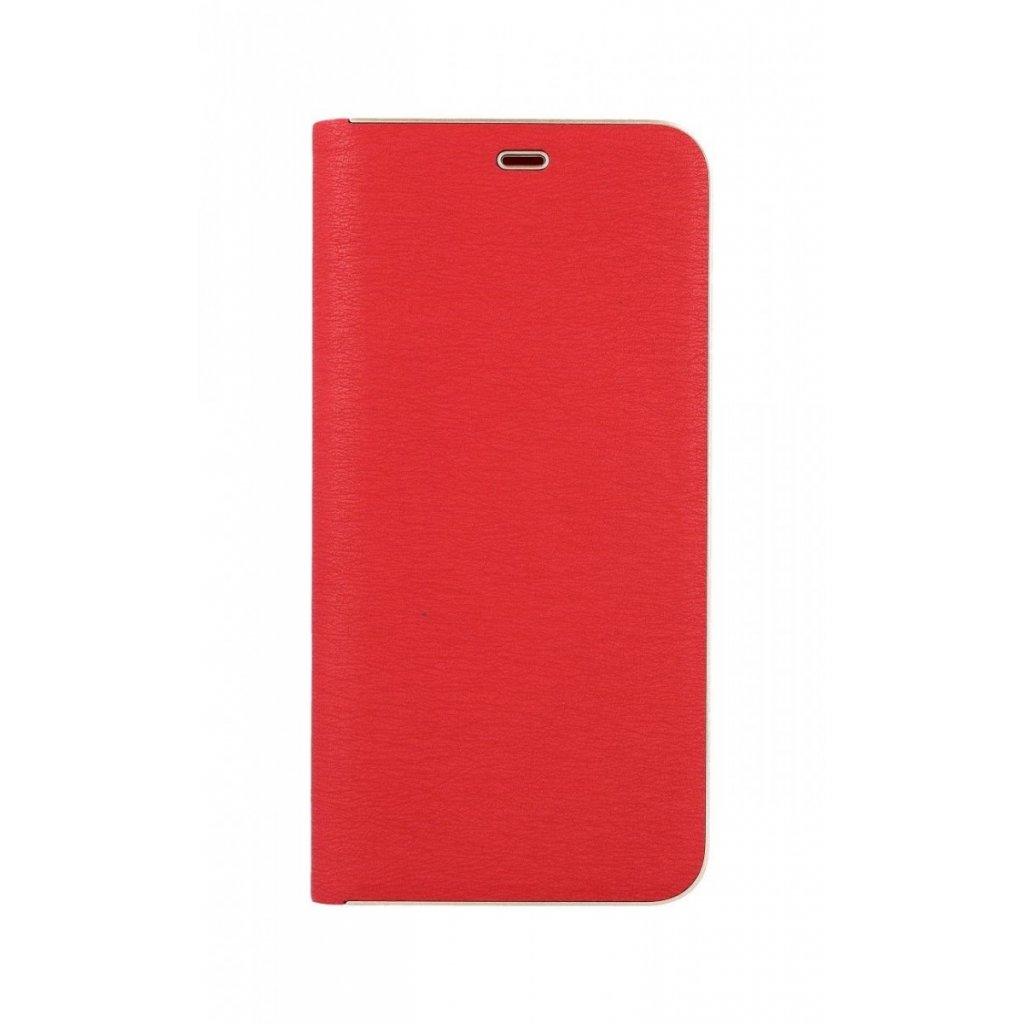 Flipové puzdro Luna Book na Samsung A9 červené