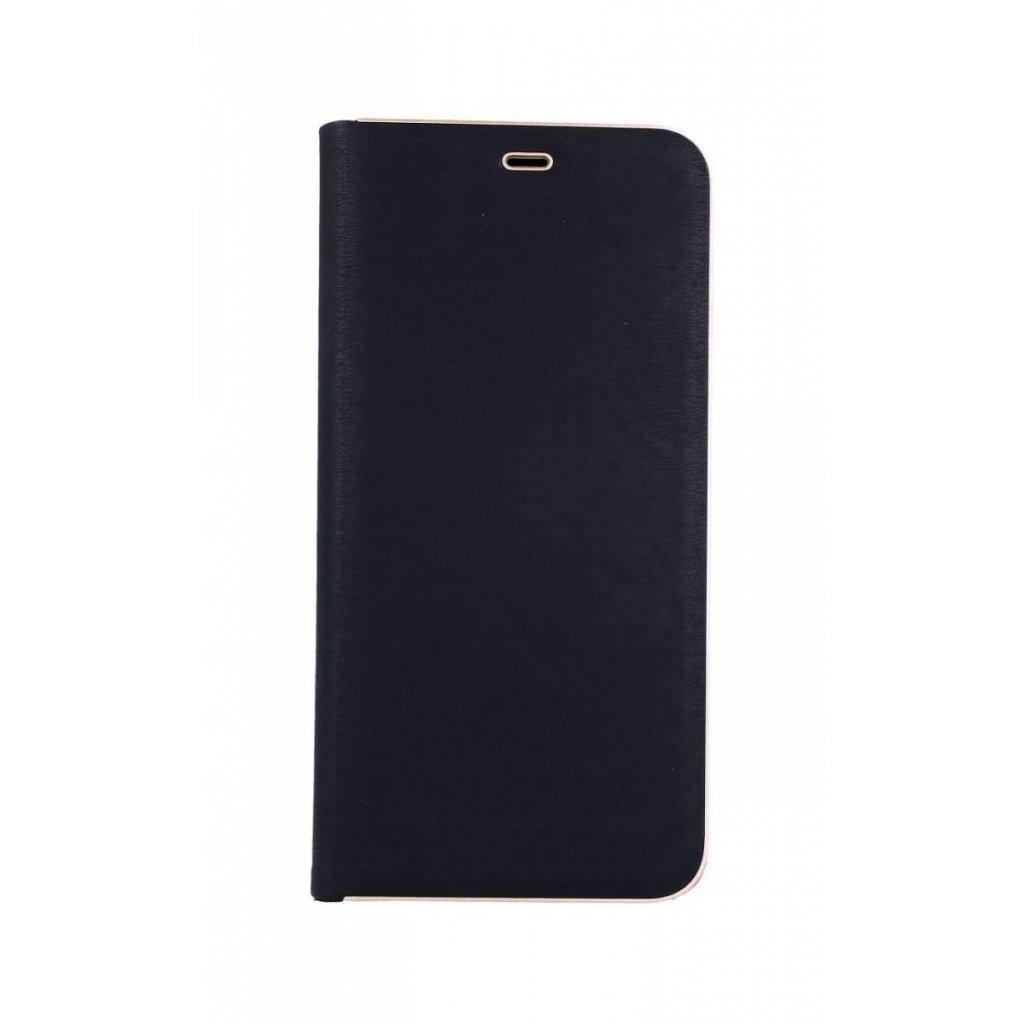 Flipové puzdro Luna Book na Samsung A9 čierne