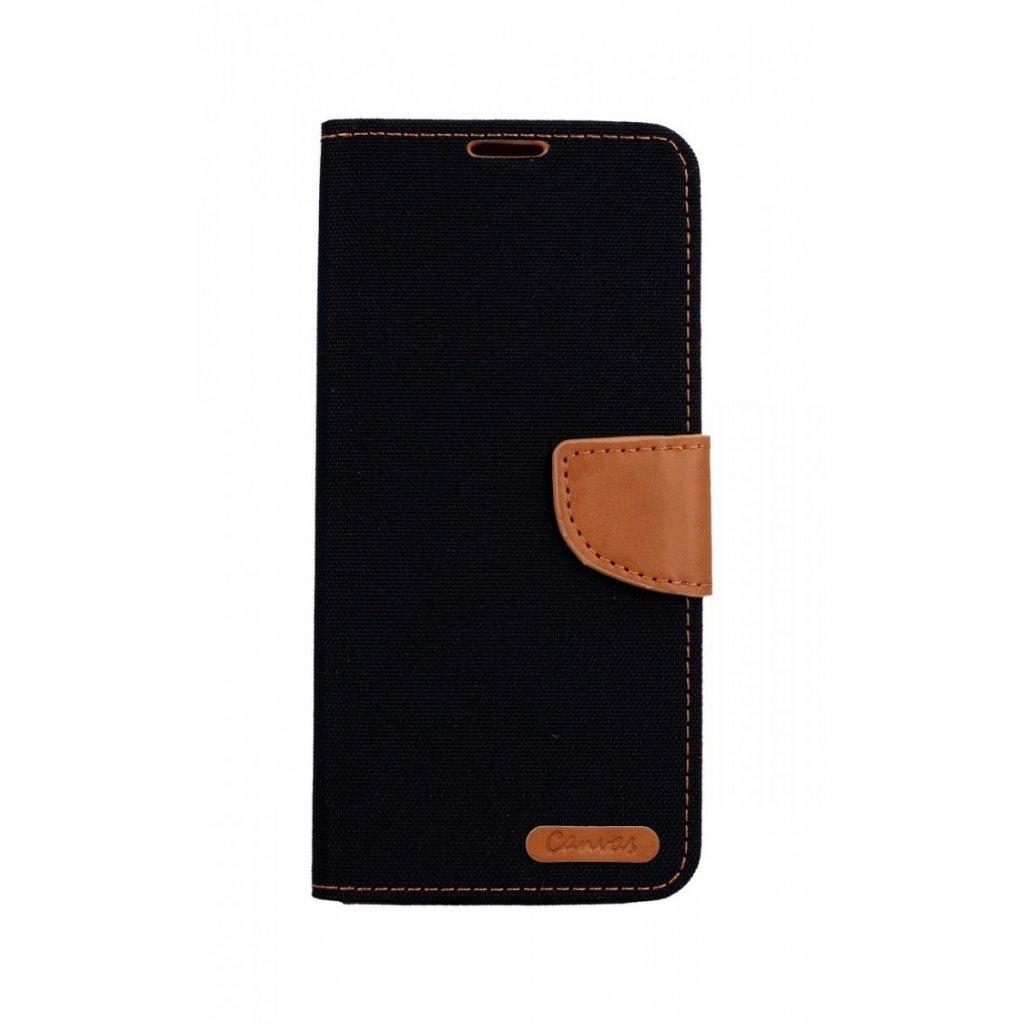 Flipové puzdro Canvas na Samsung A9 čierne
