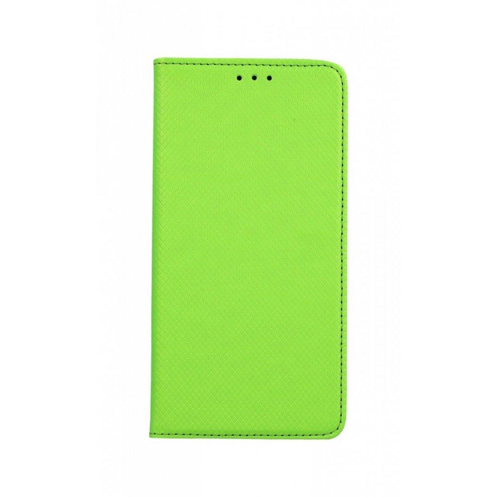 Flipové puzdro Smart Magnet na Samsung J4 + zelené