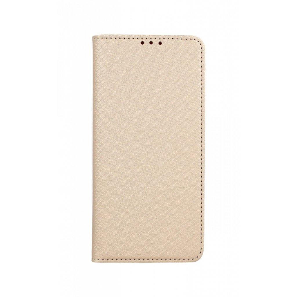 Flipové puzdro Smart Magnet na Samsung S10 zlaté