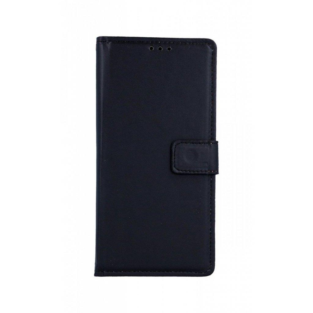 Flipové puzdro na Samsung A70 čierne s prackou 2