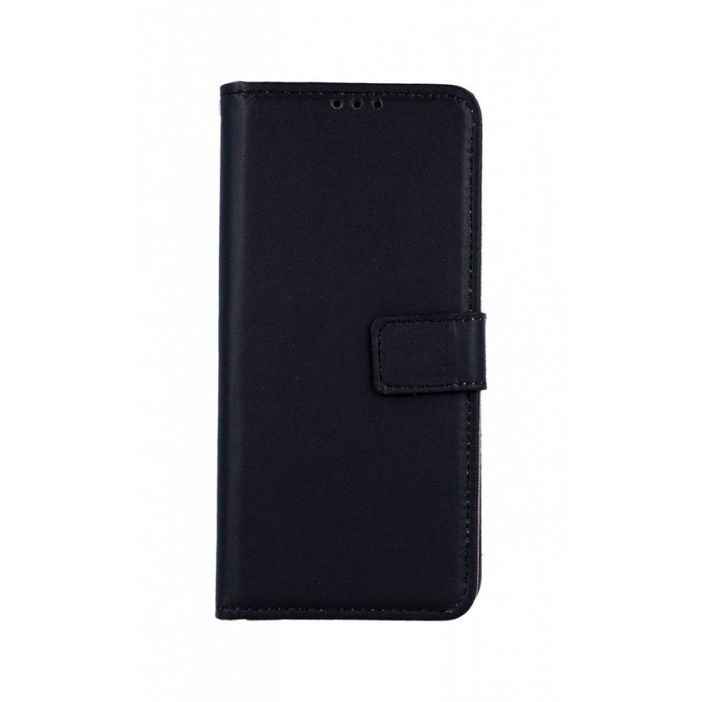 Flipové puzdro na Samsung A50 čierne s prackou 2