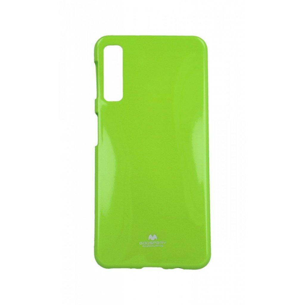 Zadný silikónový kryt Mercury Jelly Case na Samsung A7 limetkový
