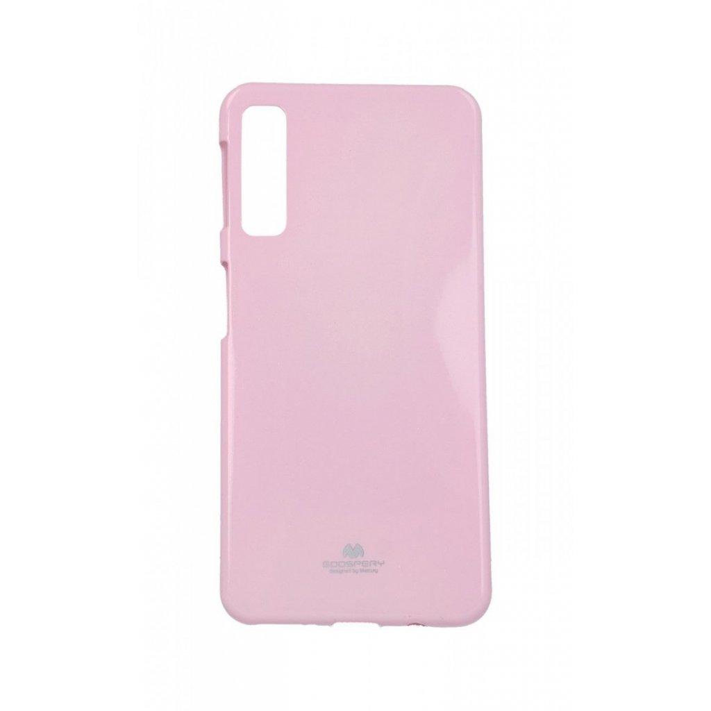 Zadný silikónový kryt Mercury Jelly Case na Samsung A7 svetlo ružový