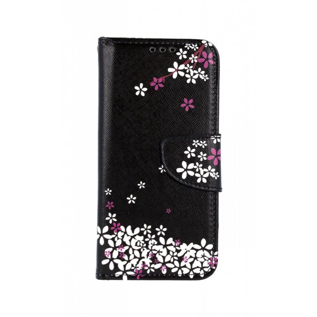 Flipové puzdro na Samsung A40 Kvety sakury