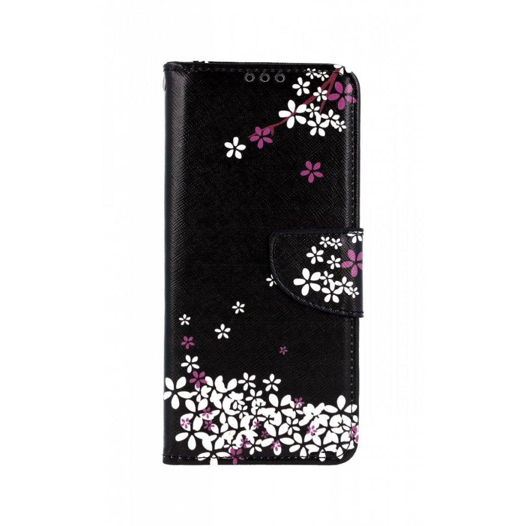 Flipové puzdro na Samsung A70 Kvety sakury