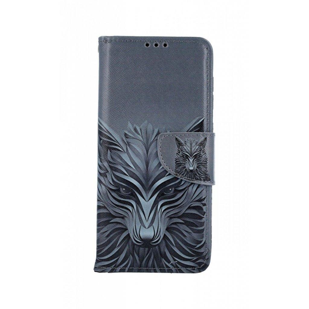 Flipové puzdro na Samsung A50 Vlk