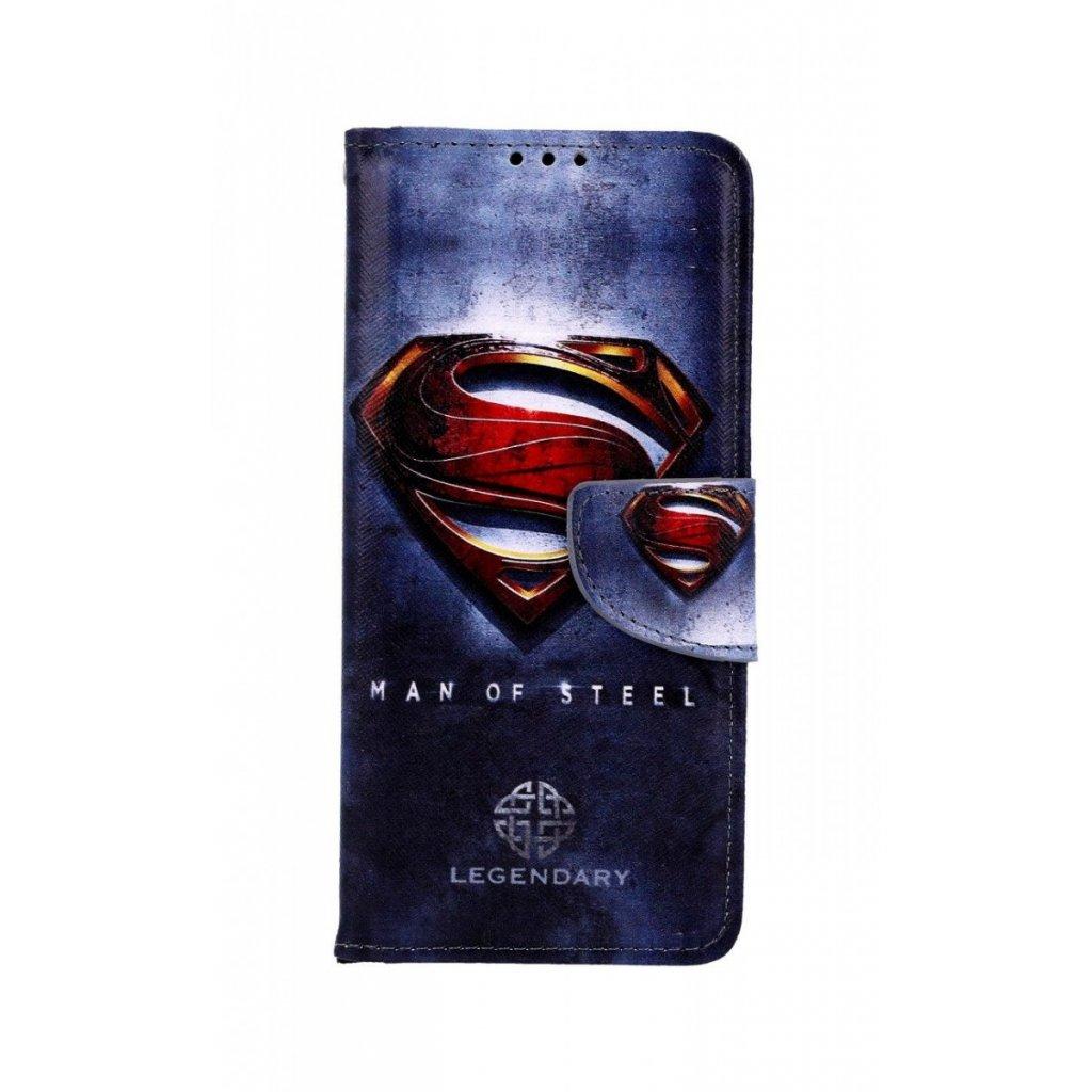 Flipové puzdro na Samsung A50 Superman 2