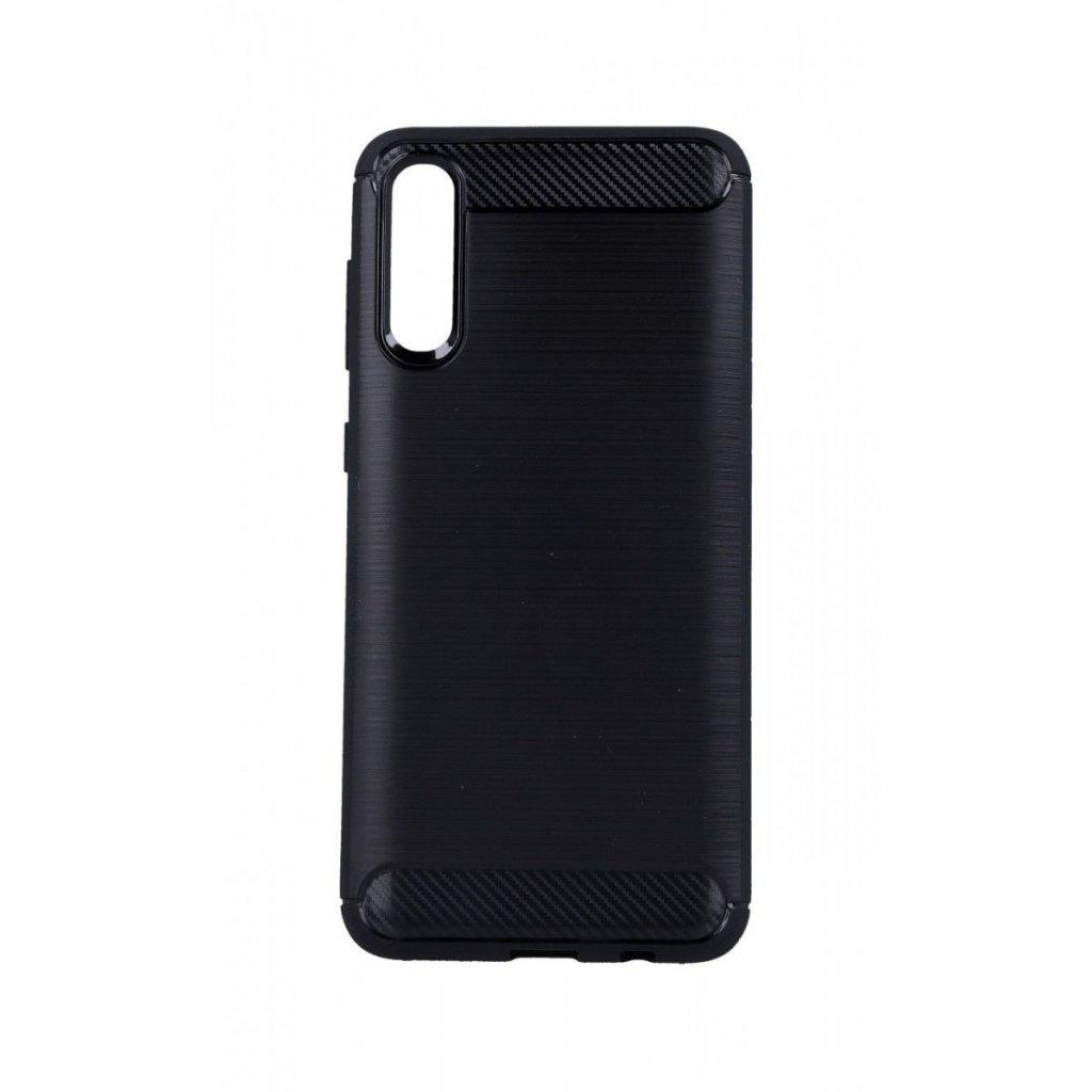 Zadný silikónový kryt na Samsung A50 čierny