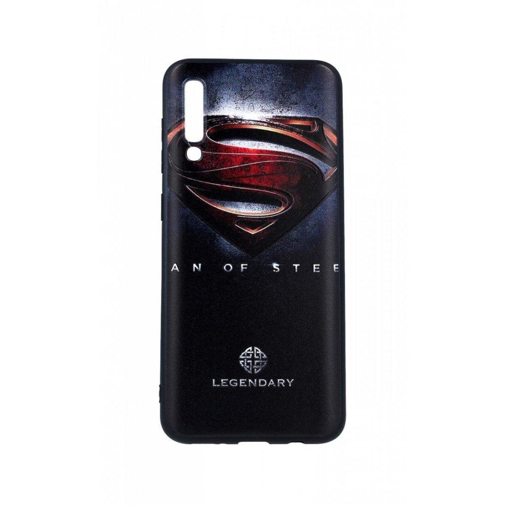 Zadný 3D silikónový kryt na Samsung A50 Superman 2