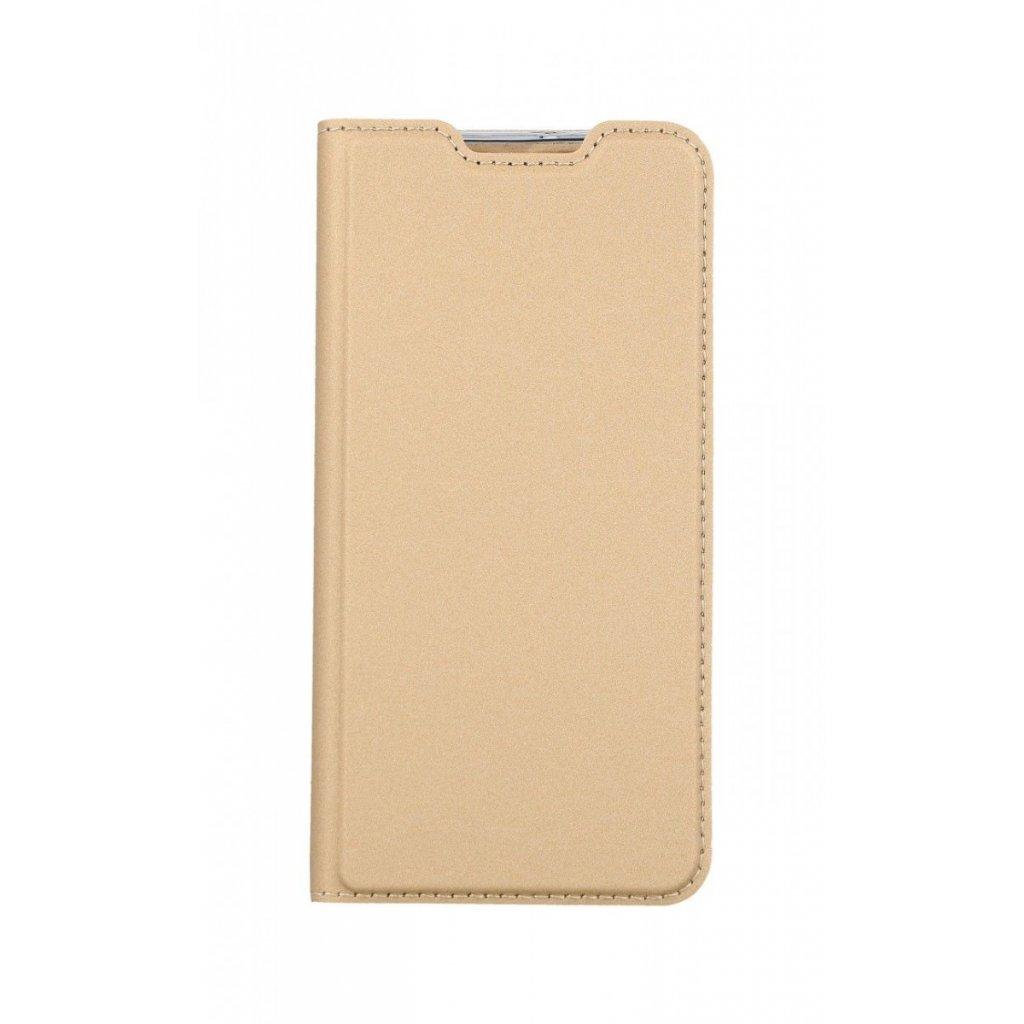 Flipové puzdro Dux Ducis na Samsung A40 zlaté