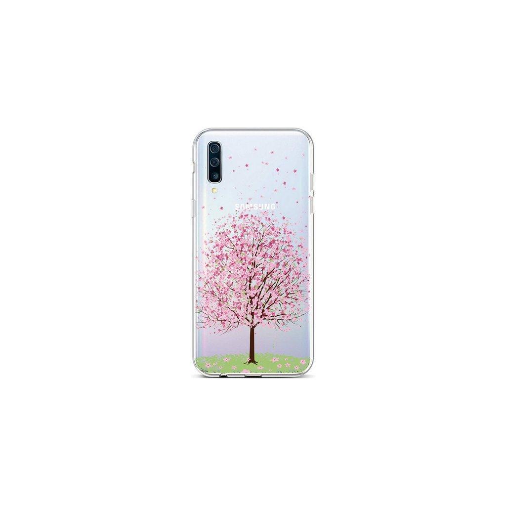 Zadný silikónový kryt na Samsung A50 Blossom Tree