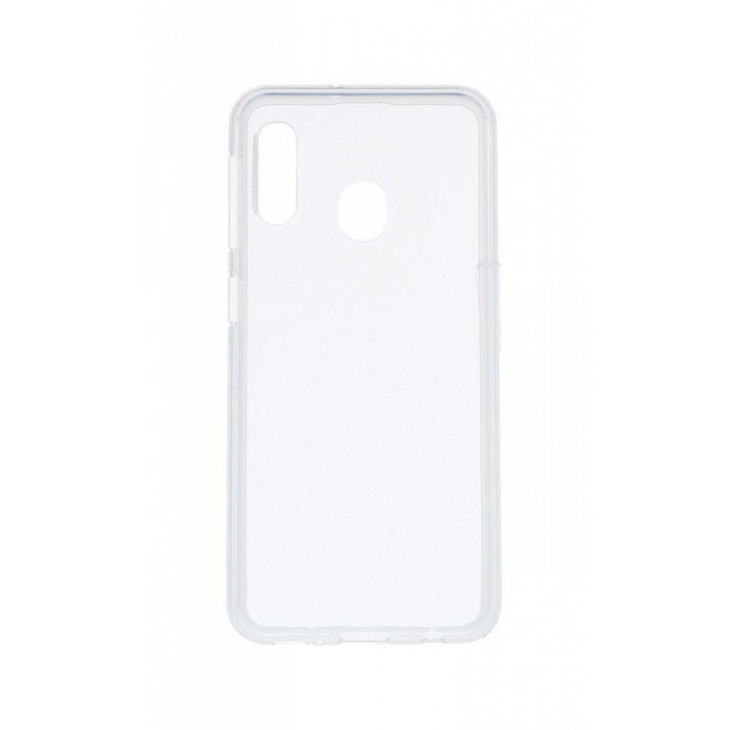 Zadný silikónový kryt na Samsung A20e 2 mm priehľadný