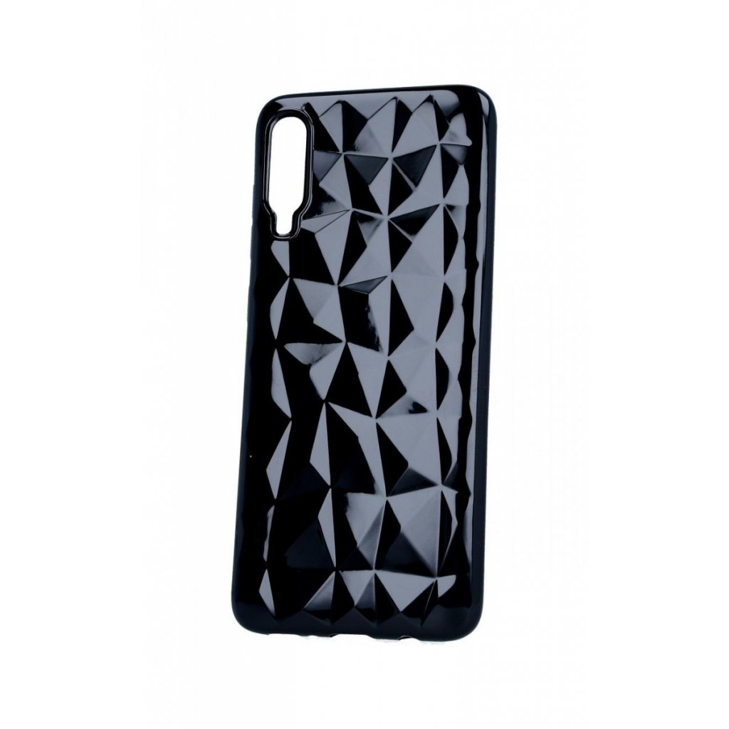 Zadný silikónový kryt Prism Jelly na Samsung A70 čierny
