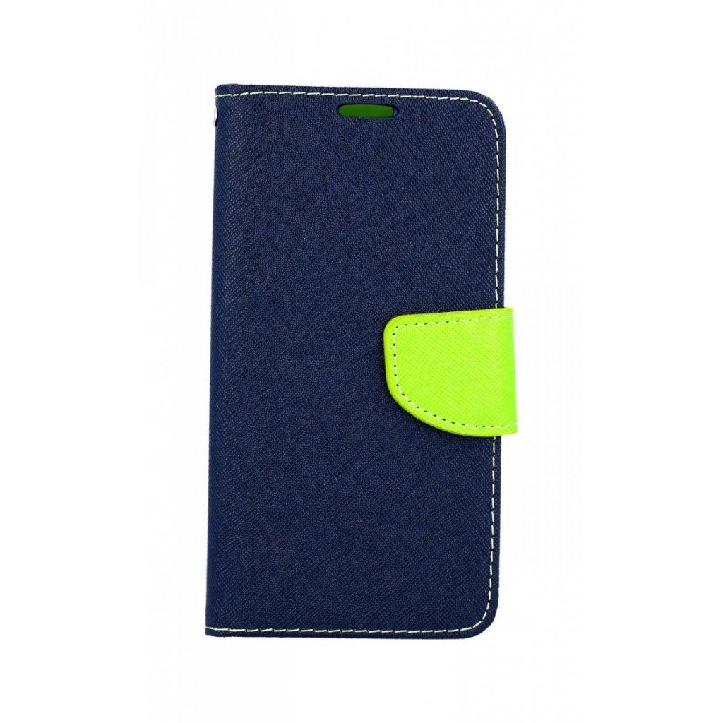 Flipové puzdro na Samsung A40 modré