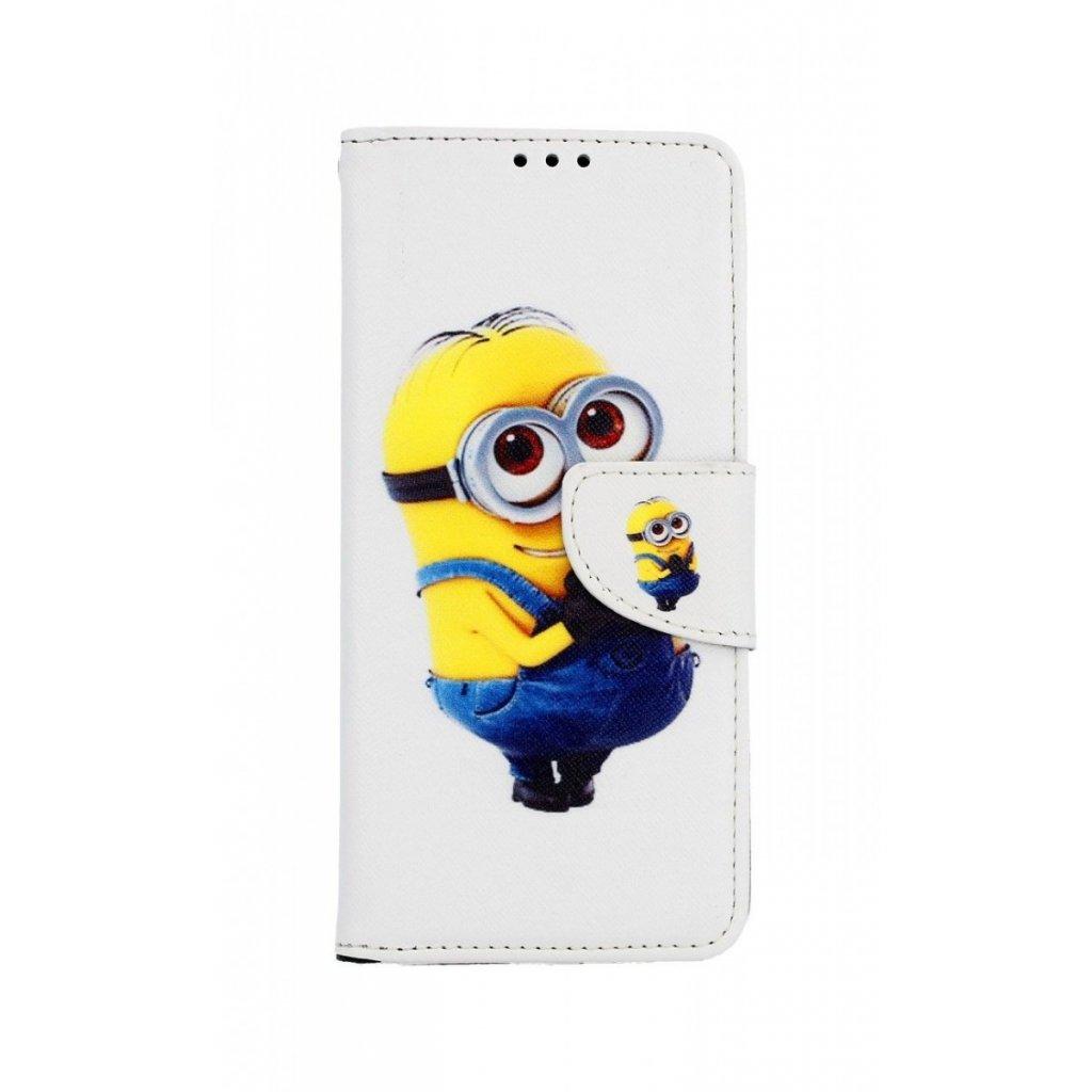 Flipové puzdro na Samsung J4 + Minion
