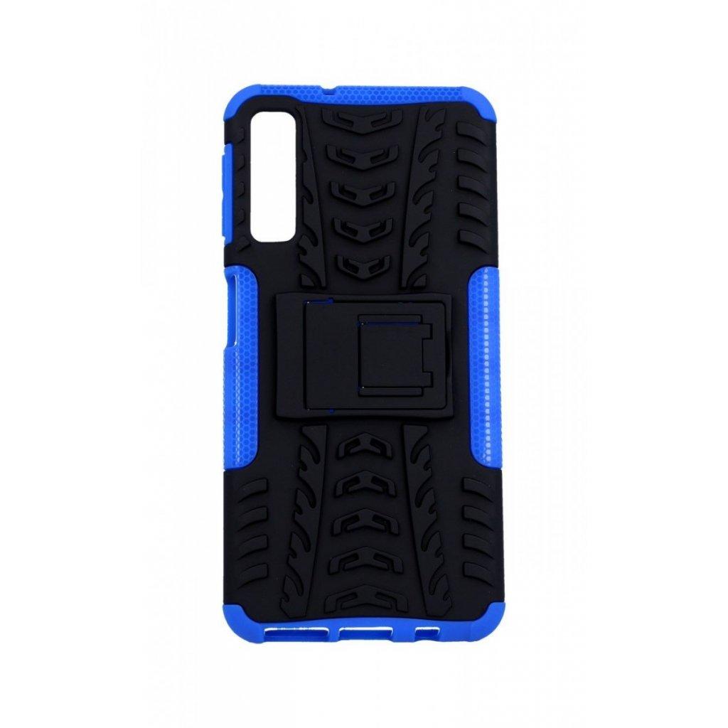 Ultra odolný zadný kryt na Samsung A7 modrý