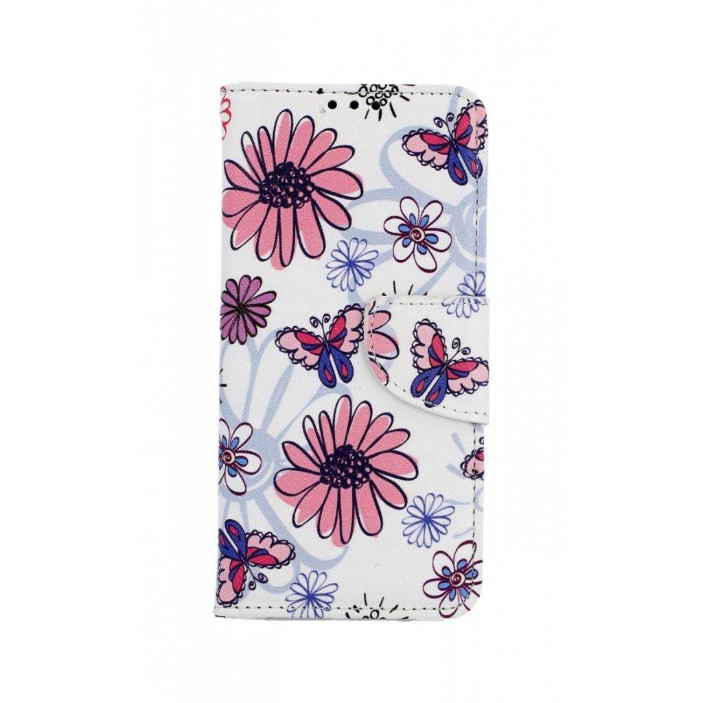 Flipové puzdro na Samsung A6 Flowers