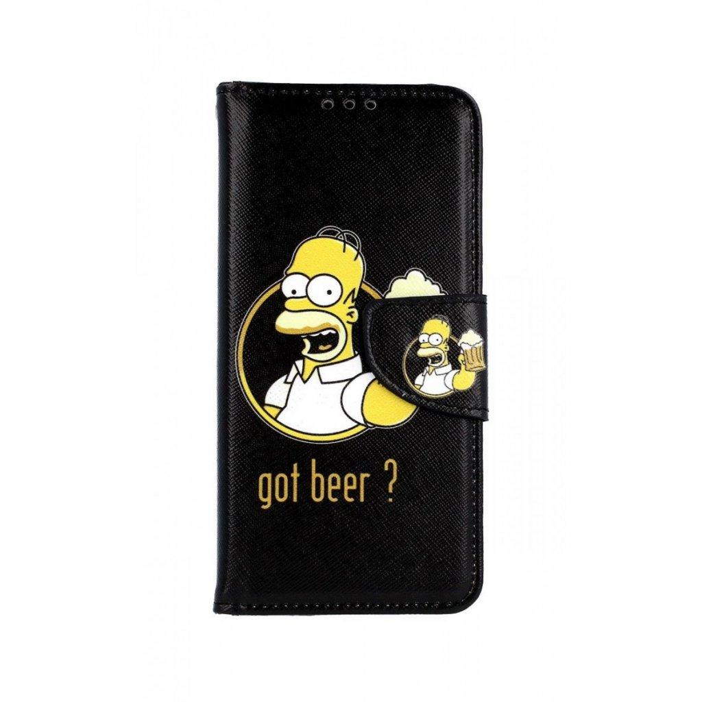 Flipové puzdro na Samsung A6 Homer