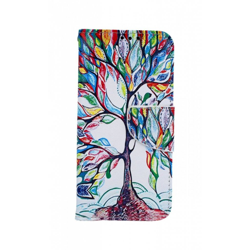 Flipové puzdro na Samsung A40 Farebný strom