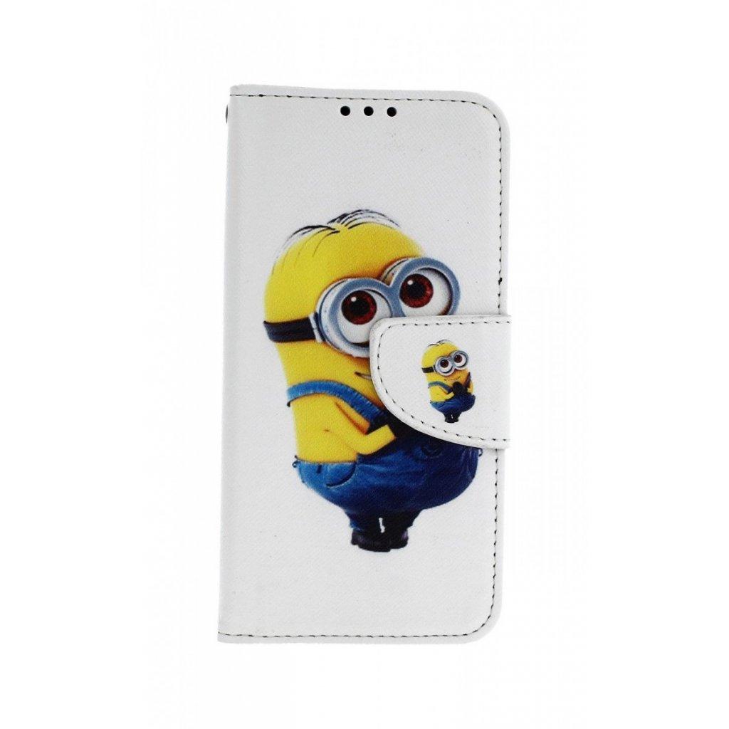 Flipové puzdro na Samsung A40 Minion