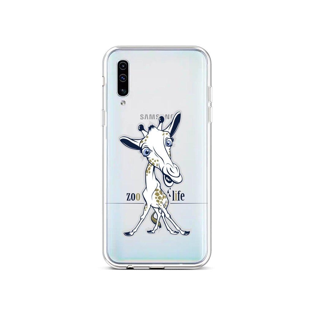 Zadný silikónový kryt na Samsung A50 Zoo Life