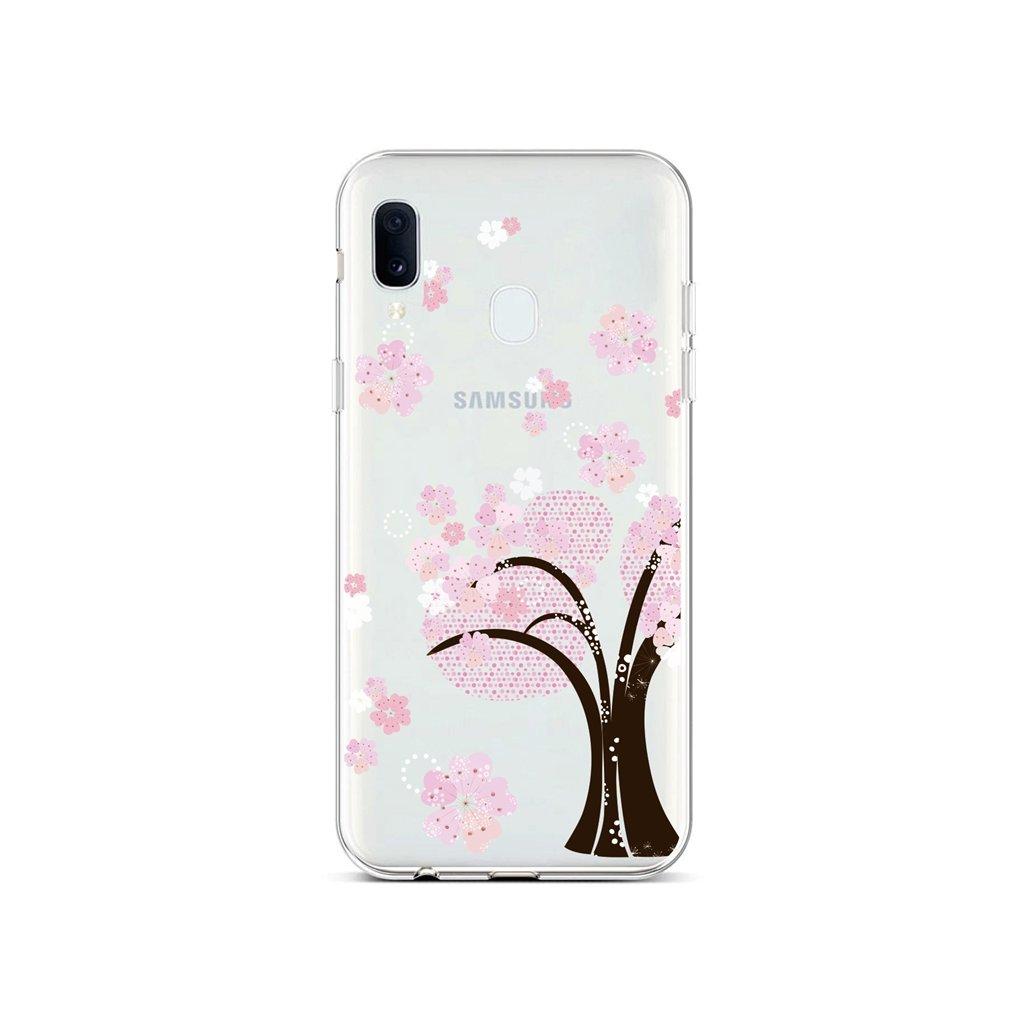 Zadný silikónový kryt na Samsung A20e Cherry Tree
