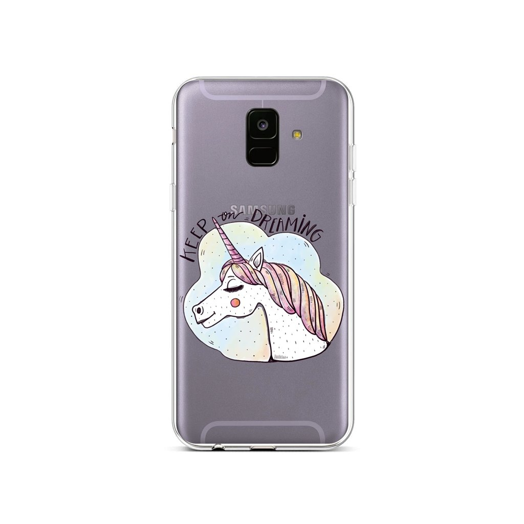 Zadný silikónový kryt na Samsung A6 Dreaming