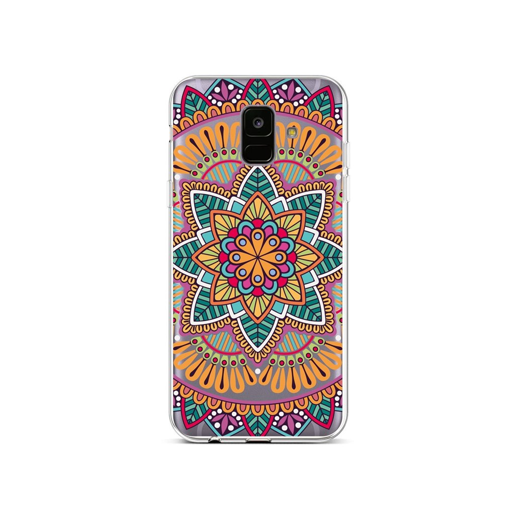 Zadný silikónový kryt na Samsung A6 Happy Mandala