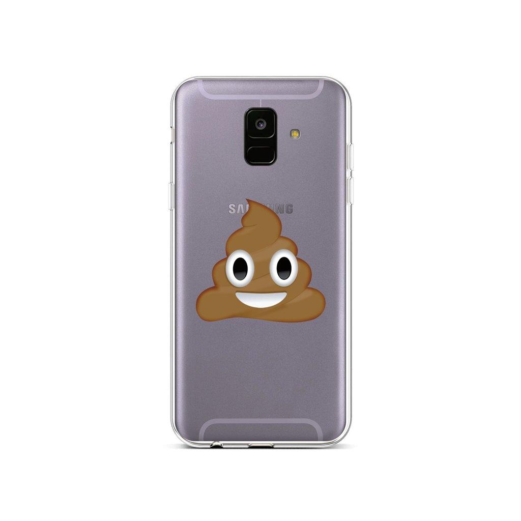 Zadný silikónový kryt na Samsung A6 Poo
