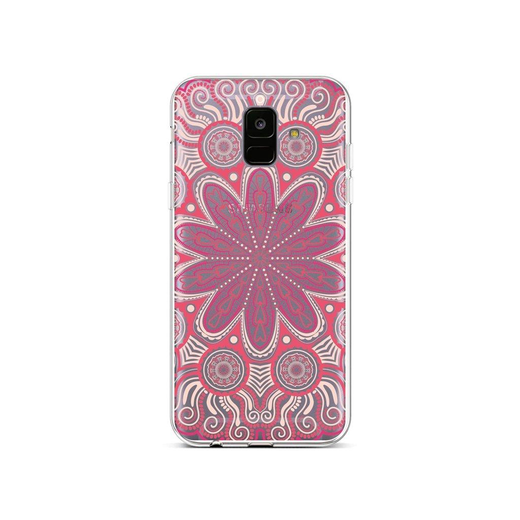 Zadný silikónový kryt na Samsung A6 Romantic Mandala