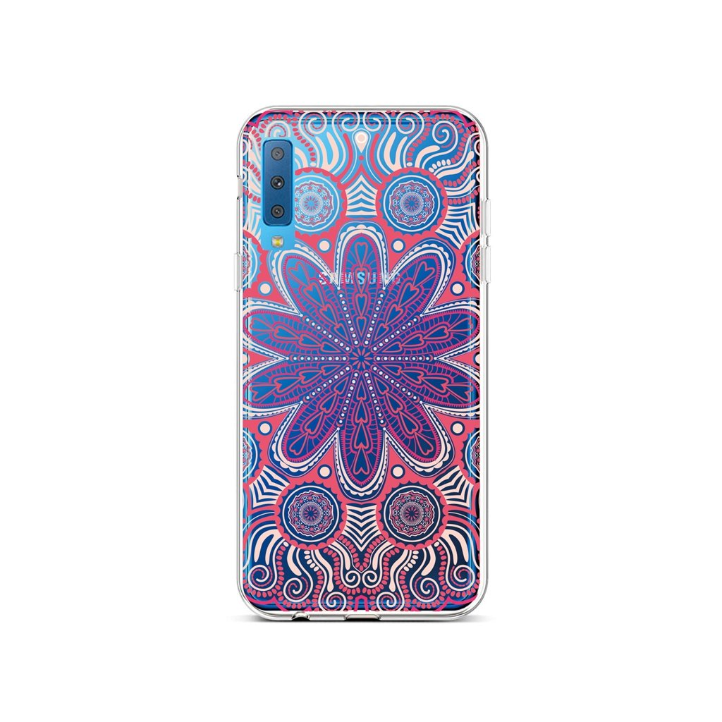 Zadný silikónový kryt na Samsung A7 Romantic Mandala