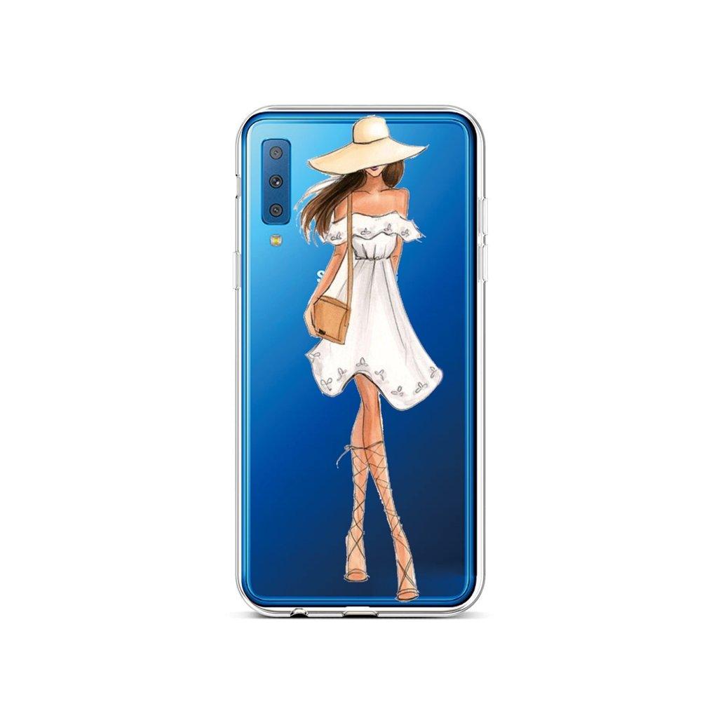Zadný silikónový kryt na Samsung A7 Lady 5