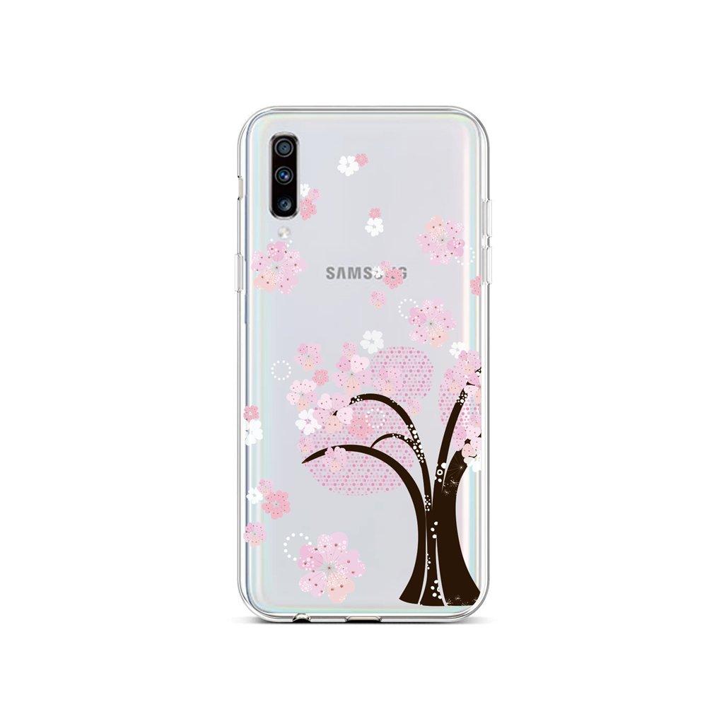 Zadný silikónový kryt na Samsung A70 Cherry Tree