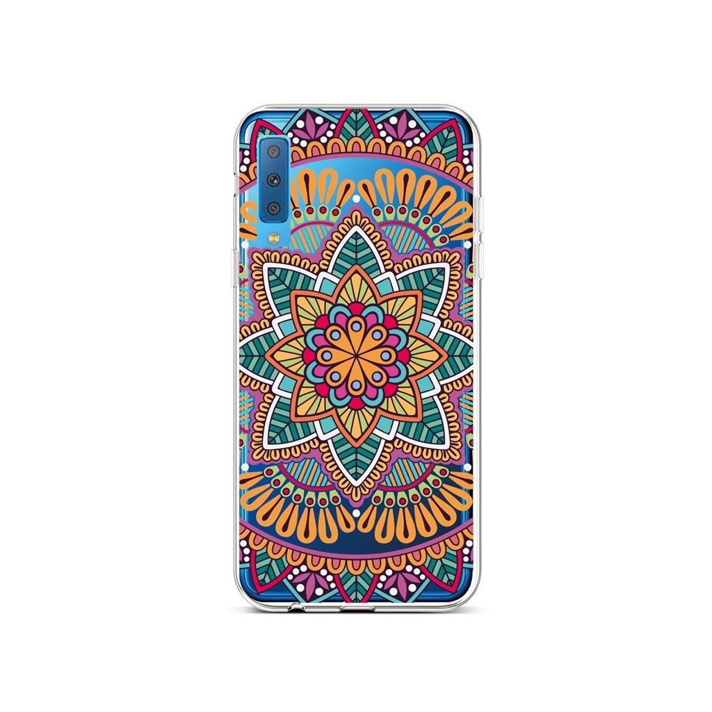 Zadný silikónový kryt na Samsung A7 Happy Mandala