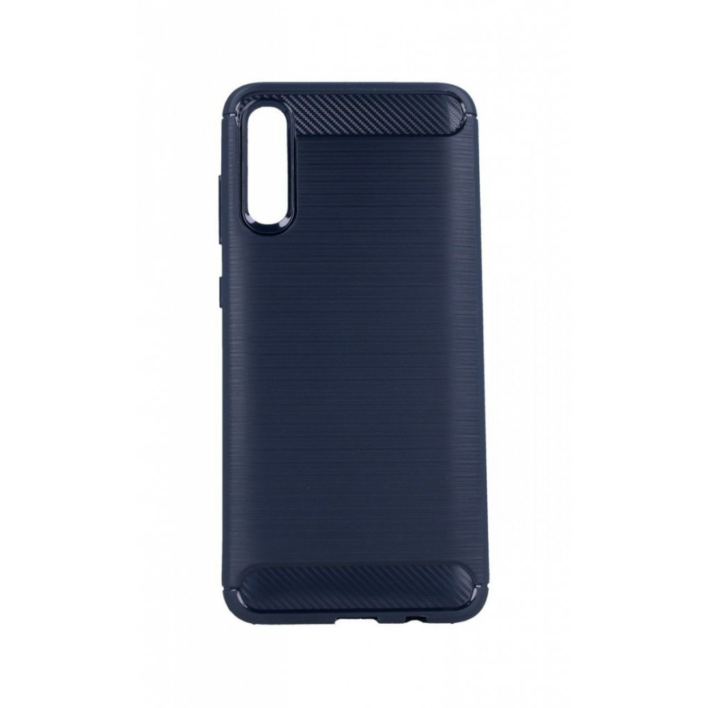 Zadný silikónový kryt na Samsung A70 modrý