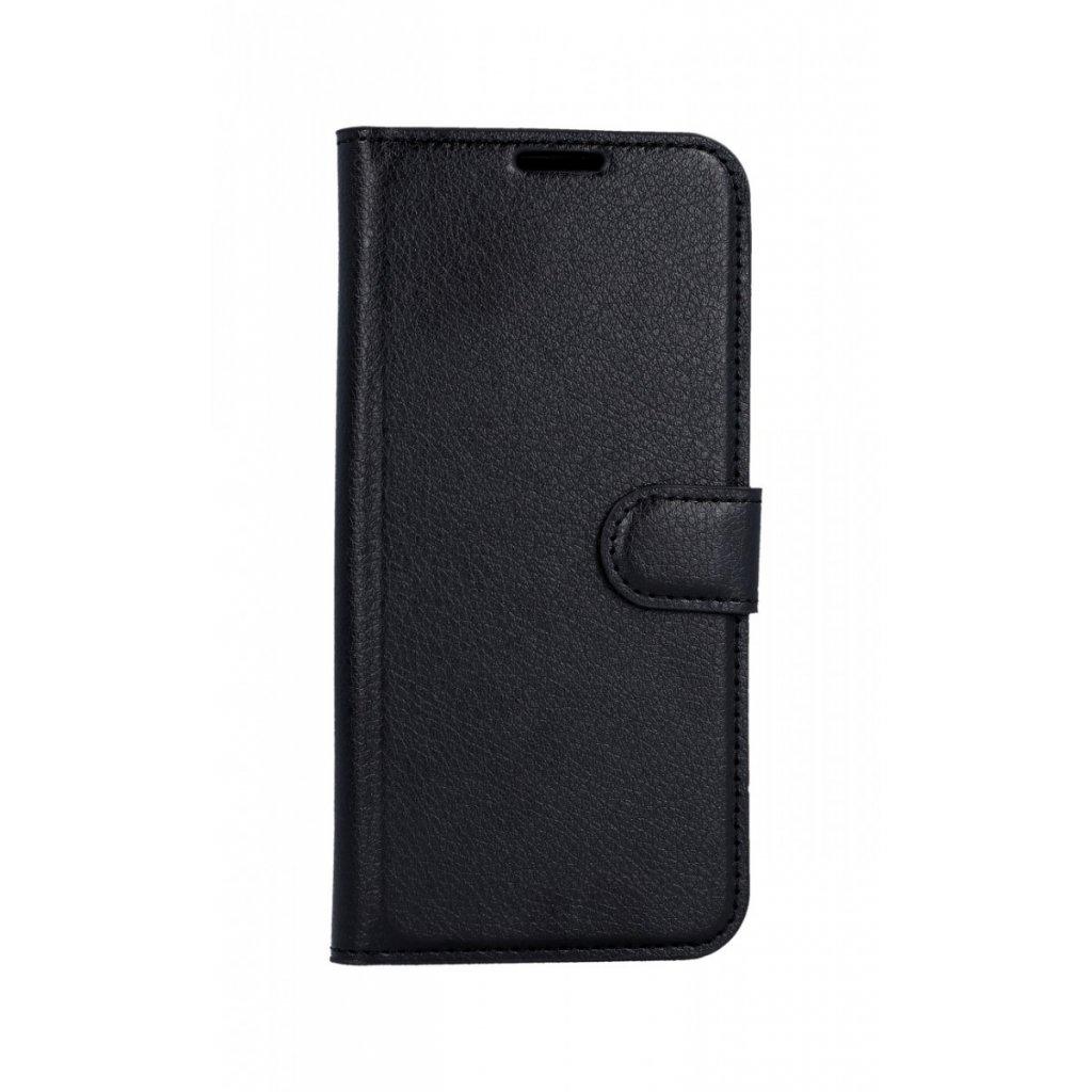 Flipové puzdro na Samsung A20e čierne s prackou