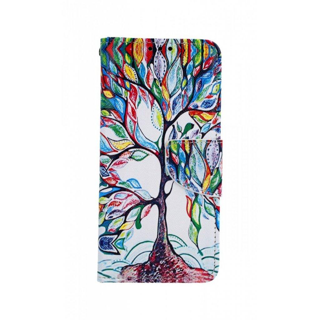 Flipové puzdro na Samsung A20e Farebný strom