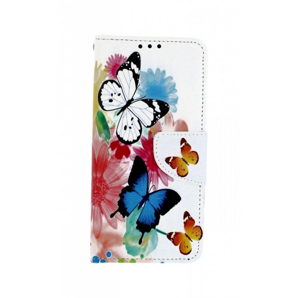 Flipové puzdro na Samsung A20e Farebné s motýlikmi