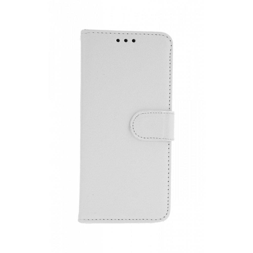 Flipové puzdro na Samsung A20e biele s prackou