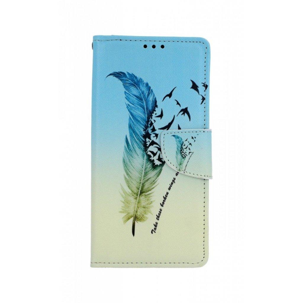 Flipové puzdro na Samsung A70 Pierko