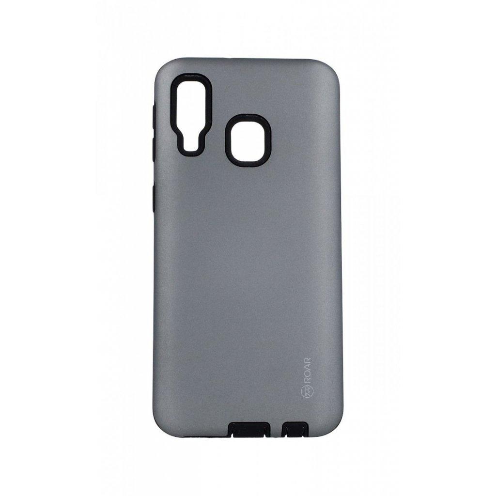 Zadný kryt Roar RICO na Samsung A40 šedý
