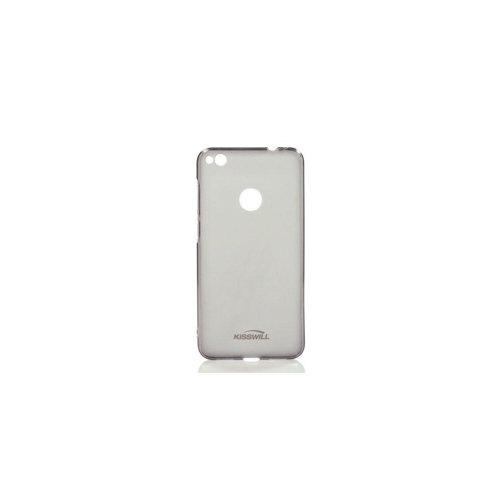 Zadný silikónový kryt Kisswill na Huawei P9 Lite 2017 tmavý